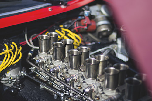 Ferrari 240 GTO 65 Motor
